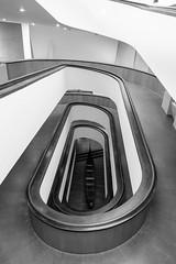 Escalier des musées du Vatican (Alain FAY) Tags: noirblanc noiretblanc blackandwhite blackwhite escalier architecture stair vatican vaticano rome roma