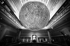 Jerram's moon3 (Chilanga Cement) Tags: moon harrismuseum harrispreston jerramsmoon lukejerram preston museum lancashire nikon nik nikond850 d850 wide wideangle indoors availablelight