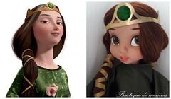 Disney Animators (Boutique de menina) Tags: dal dolls disney bjds animator bela rapunzel roupadeboneca pullip pureneemo colecionadores criança coleção