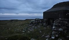 Bunker by the sea (EvenHarbo) Tags: nikond7100 nikon norge norway rogaland randaberg bunker ww2 ww2bunker sea coast sky clouds worldwar2 war børaunen northsea nordsjøen construction