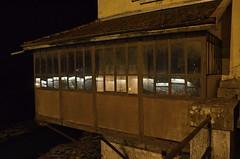 (Jean-Luc Léopoldi) Tags: nuit terrasse ain bresse restaurant pont rivière surplomb reflets