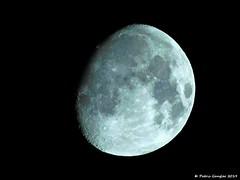 Mond in der Nacht zum 18. März 2019. (patric.gangler) Tags: mondfotos mondfotografie moon nachtaufnahmen himmelskörper nikonfotografie nikonphotographers nikonphotography coolpixusers coolpixers kompaktkamera bridgecamera nikoncoolpixb500 digitalzoom