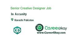 Senior Creative Designer (CareerOkay) Tags: senior creative designer jobs pakistan career okay in karachi lahore