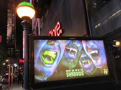 What We Do in the Shadows Billboard Poster Ad 2709 (Brechtbug) Tags: what we do shadows billboard poster ad over subway entrance american comedy horror television series fx march 27th 2019 channel starring kayvan novak matt berry natasia demetriou harvey guillen based 2014 film by jemaine clement taika waititi about three vampires who have been roommates for hundreds years ads advertisement tv show