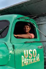 Playa Larga, Cuba (Gijs.1985) Tags: northamerica caribbean cuba playalarga travel reizen culture cultuur portrait portret trucker truck oldtimer streetphotography straatfotografie streetphoto sonya6000 ngc