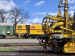 Ambiance faisceau travaux (SylvainBouard) Tags: sncf railway train
