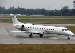 G-RJXI Embraer 145EP Loganair (Keith B Pics) Tags: embraer erj145 grjxi keithbpics stn egss stansted ptsuz regionaljet