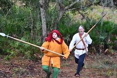 EEF_7636 (efusco) Tags: boar medieval spear brambleschoolearteofthehunt bramble schoole military arts academy florida ferel hog pig