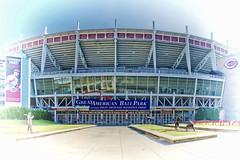 Great American Ball Park, 100 Joe Nuxhall Way, Cincinnati, Ohio, USA / Built: 2003 / Architect: HOK Sport (now Populous) / Surface: Perennial Ryegrass / Capacity: 42,319 (2008–present) / Operator: Cincinnati Reds / Structural Engineer: Geiger / THP Ltd (Photographer South Florida) Tags: greatamericanballpark 100joenuxhallway cincinnati ohio usa built2003 architecthoksportnowpopulous surfaceperennialryegrass capacity42 3192008–present cincinnatireds geiger thpltd cityscape city urban downtown density skyline skyscraper building highrise architecture centralbusinessdistrict hamiltoncounty cosmopolitan metropolis metropolitan metro commercialproperty buckeyestate realestate tallbuilding commercialdistrict commercialoffice residential condominium carewtower greatamericantower ohioriver mtadams pricehill pnctower fountainsquare proctergamble newport kentucky covington cincinnatiunionterminal ludlow kentoncounty mtechopark riverboat scrippscenter riverfront skystarobservationwheel