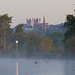 swans and the cathedral - Riverside Valley Park, Exeter, Devon - Sept 2018