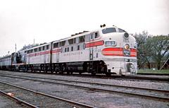 CB&Q F3 116D (Chuck Zeiler 48Q) Tags: cbq f3 116d burlington railroad emd locomotive congresspark train alchione chz