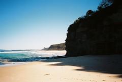 ulladulla, may 2018 (kodacolorframes) Tags: shoalhaven southcoast nsw australia yashicat4 fujiproplusii100 35mm analogue beach pacific ocean