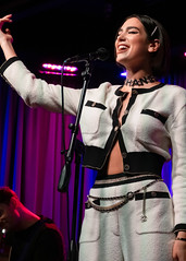 Dua Lipa 09/28/2018 #98 (jus10h) Tags: dualipa grammymuseum losangeles california live music interview performance gig show concert event venue stage theatre theater clive davis lalive microsoft female uk pop singer songwriter artist young sexy beautiful model brit sony dscrx10 dscrx10m3 photography justinhiguchi photographer september 28 2018 friday