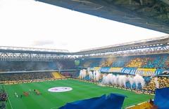 Atmosphere in Fenerbahçe v Galatasaray Derby (aykutgebes) Tags: football fenerbahce derby