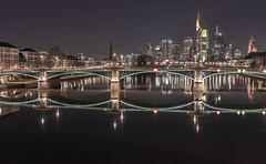 FrankfurtamMain (phizidesgn) Tags: earth main frankfurt city photooftheday photo pictureoftheday night bridge car