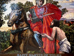 Saint Martin of Tours (giveawayboy) Tags: savaria pannonia szombathely hungary christtheking ctk tampa catholic church narthex mosaic saint martinoftours martin saintmartin