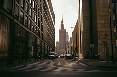 ANALOG; Kodak Gold 200 (ewitsoe) Tags: analog analogue city cityscape compact filmy kodakgold olympusaf10super spring street warszawa color erikwitsoe erikwitsoecom film kodak urban warsaw gold200 streetscene weather life everydaylife moments