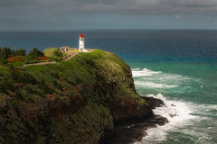 Kilauea Lighthouse (Jake_Rogers) Tags: jakerogersphotography jakerogers albatross rain oceanswells ocean lighthouse kilauealighthouse kauai hawaiianislands hawaii