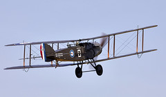Bristol Fighter (Bernie Condon) Tags: uk british shuttleworth collection oldwarden airfield airshow display aviation aircraft plane flying militarypageant june june2018 bristol f2 fighter military warplane vintage preserved classic ww1 reconnaissance biplane rfc royalairforce raf bomber multi role royalflyingcorps brisfit