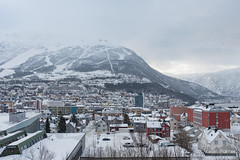 Snowy Morning In Narvik (kevin-palmer) Tags: narvik norway arctic march winter snow snowy cold morning cloudy overcast scandinavianmountains nikond750 tamron2470mmf28 sea arcticocean ofotfjord