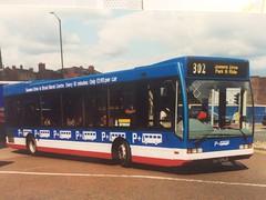 P151 CTV (nevetsyam1404) Tags: parkride broadmarshbusstation wellglade trentbarton bartonbuses barton b43f l1150 excel optare optareexcel optareexcell1150 151 p151ctv