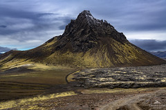 The life outdoors. (lawrencecornell25) Tags: landscape southerniceland southernhighlands krakatindur volcano mountain outdoors nature scenery nikond850 extremeterrain