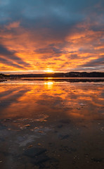 X marks the spot (englishgolfer) Tags: sunset water orust sweden sverige west coast västkusten bohuslän nikon d7500 tamron 1750mm