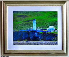 Scotland Greenock one of my pictures of Campbeltown lighthouse framed 20 January 2019 by Anne MacKay (Anne MacKay images of interest & wonder) Tags: scotland greenock campbeltown lighthouse lanscape framed 20 january 2019 picture by anne mackay