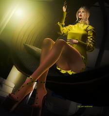 Kara ([ô] jon austrone) Tags: exxess sg slackgirl ella jesspose fashion legs blonds models