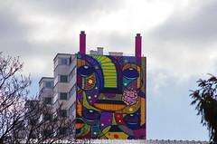 219 Paris en Mars 2019 - à l'entrée du Parc Georges Brassens (paspog) Tags: paris france fresque mural murals fresques streetart parcgeorgesbrassens mars march märz 2019