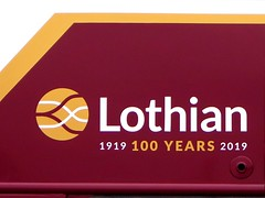 Lothian Buses - Celebrating 100 Years 1919 - 2019 (peter_b2008) Tags: lothianbuses edinburgh centenary 100years