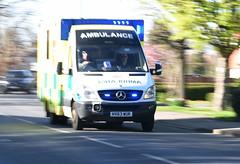 DSC_2871 Mercedes-Benz Sprinter 519 CDI Ambulance (PeaTJay) Tags: nikond750 sigma england uk lowerearley berkshire reading outdoors roadvehicle emergencyservices publicservices ambulance mercedesbenz