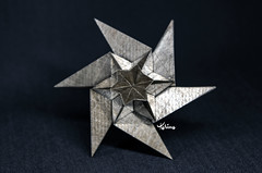 Star (talina_78) Tags: origami star hexagon