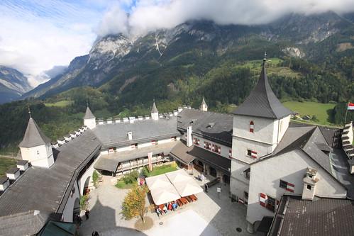 Österreich, Festung Hohenwerfen