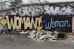 Woman (lepublicnme) Tags: france paris december 2018 graffiti woman 500px