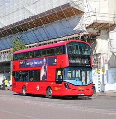 Go Ahead London Central - WHV146 - BV66VJE (Waterford_Man) Tags: whv146 bv66vje hybrid wrightbus goaheadlondoncentral goaheadlondongeneral