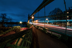Hammersmith bridge 1.. (The all seeing i) Tags: longexposure flickr fujifilm outdoors london wideangle samyang 8mm