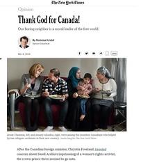 Thank God For Canada (appaIoosa) Tags: canada usa china saudiarabia المملكةالعربيةالسعودية 中华人民共和国
