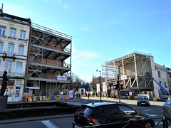 Place Albert gets its corners back at last (Cooperatoby) Tags: metro premetro brussels infill gateway albert stgilles