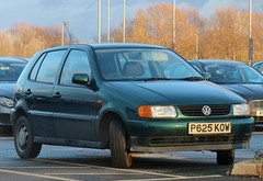 P625 KOW (Nivek.Old.Gold) Tags: 1997 volkswagen polo 14 cl 5door