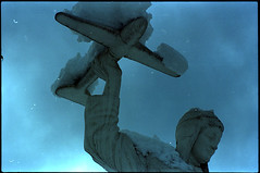 654 (konophotography) Tags: konophotography konophoto film filmisnotdead filmphotography analog analogue 35mm nature snow buyfilmnotmegapixels ishootfilm georgia 2016