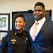 Trevon Sanders honored as Mayor for the Day