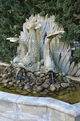 Fontaine des Trois Tritons (RarOiseau) Tags: aixenprovence paca bouchesdurhône jardin parc sculpture musée