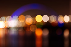City Lights (captures.in.time) Tags: hydro glasgow clyde clydeside sse urban raw urbanphotography glasgowphotography light nightphotography longexposure le affinity canon city cityscape night architecture crane bridge bbc bbcscotland armadillo water sky river arch building skyline