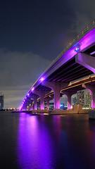 Miami-Night-23vert (monte-leone) Tags: miami usa night city skyline panorama bei nacht