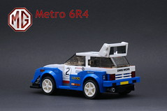 3 Rear 3_4 Left (Marc 'Edge' R.unde) Tags: lego speed champions mg metro 6r4 rally group b