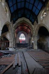 Church of Costa1 (Landie_Man) Tags: church costa urbex yorkshire coffee st andrews derp derpy religion abandoned disused closed shut retail survivor