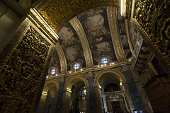 Saint John's Co-Cathedral (Crisp-13) Tags: saint johns cocathedral arch gold roof valletta malta