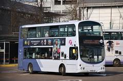 First Glasgow SF09 LDV (37744) | Route X87 | Buchanan Bus Station, Glasgow (Strathclyder) Tags: first glasgow firstglasgow volvo b9tl wright eclipse gemini sf09 ldv sf09ldv 37744 buchanan bus station scotland olympiarevised caledonia dv170