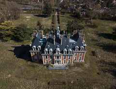 #183 Abandoned chateau (Timster1973 - thanks for the 16 million views!) Tags: aerial aerialphotography fly mavic drone uav quadcopter dji mavicprodrone djimavicpro up uphigh droneflying tim knifton timster1973 timknifton explore exploration perspective lookdown lookingdown color colour chateau abandoned abandonment abandon house home mansion residence residential derelict beautiful decay beautifuldecay beautyindecay